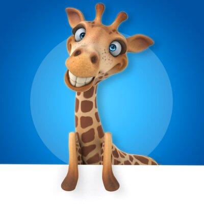 Poster giraffe Fun