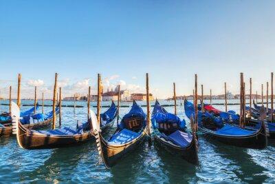 Poster Gondole galleggianti in Canal Grande