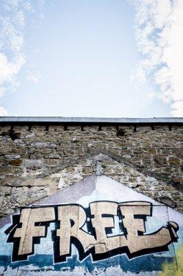 Poster Graffiti libero