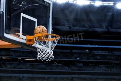 Poster Grande arena di basket con copia spazio