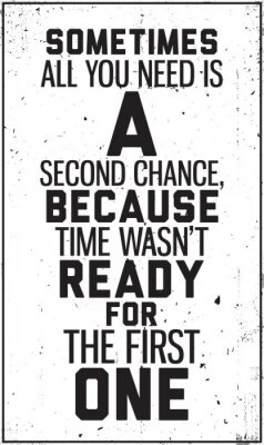 Poster Grungy manifesto motivazionale. Decorazione di interni