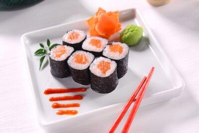 Poster Hossomaki Sushi