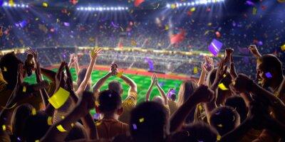 Poster I fan di gioco dello stadio PanoramaView