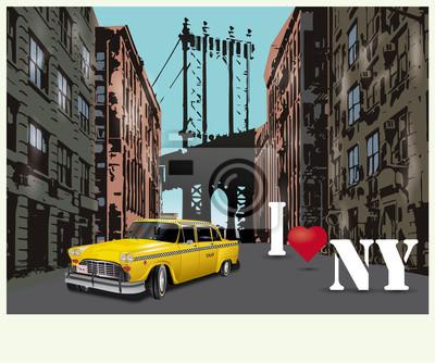 Poster I love New York