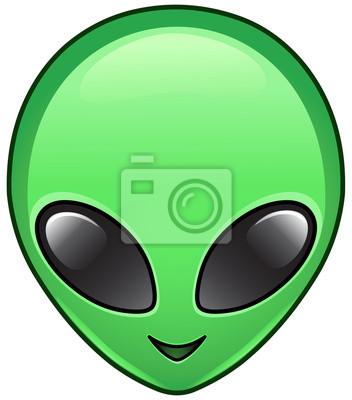 Icona alien manifesti da muro • poster disco volante 3db8f82adeb0