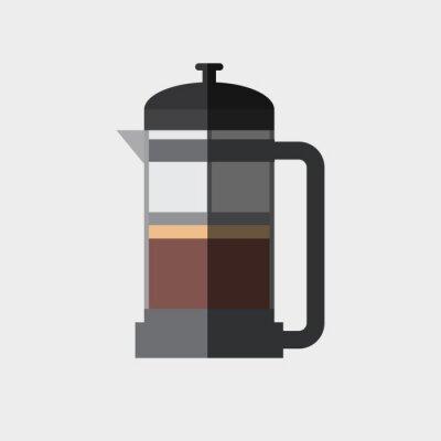 Poster icona del Coffee Design