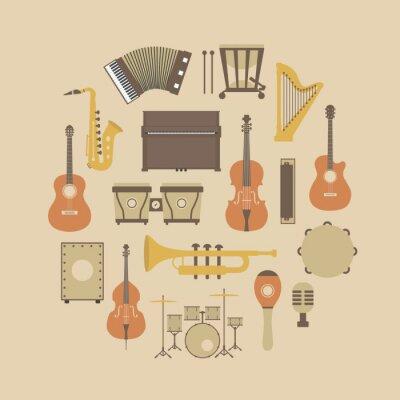 Poster icona dello strumento