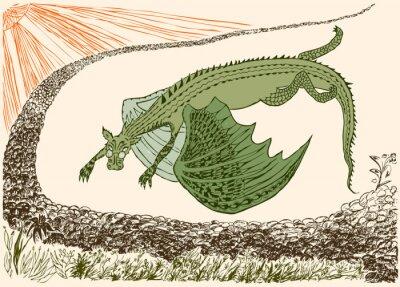 Poster Il fantastico drago è arrivato