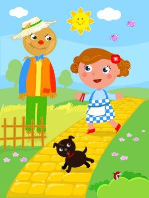 Poster Il meraviglioso mago di Oz 02 the Spaventapasseri