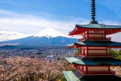 Poster Il monte Fuji, in Giappone