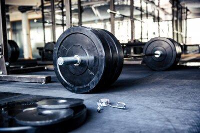 Poster Immagine del primo piano di un attrezzature per il fitness