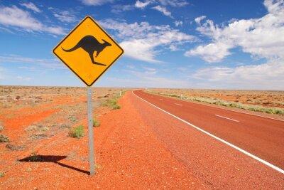 Poster Infinite strade australiane