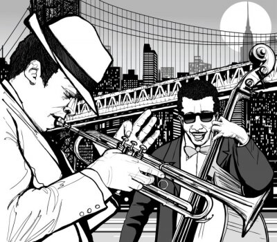 Poster jazz a New York
