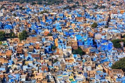Poster Jodhpur la città blu, Rajasthan, India