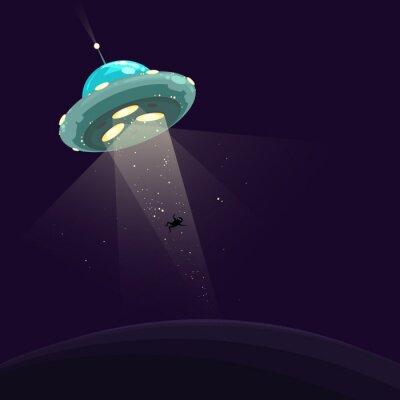 Poster L'uomo rapito da UFO