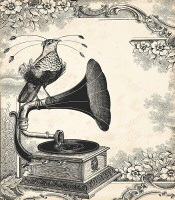 Poster La musica uccello