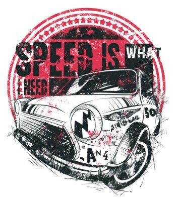 Poster La velocità è quello che mi serve