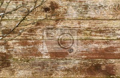 Poster legno texture di sfondo d'epoca da assi di legno