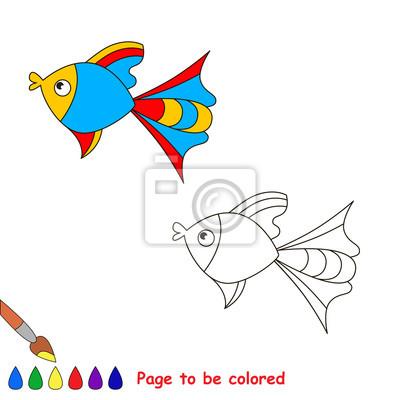 Poster Libro Da Colorare Per I Bambini Pagina Da Essere Colore