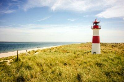 Poster Lista Lighthouse (Sylt)
