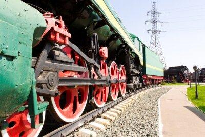 Poster Locomotiva ferrovia