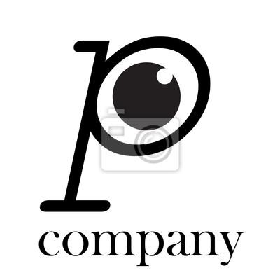Logo lettera p con occhio vector manifesti da muro poster poster logo lettera p con occhio vector thecheapjerseys Choice Image