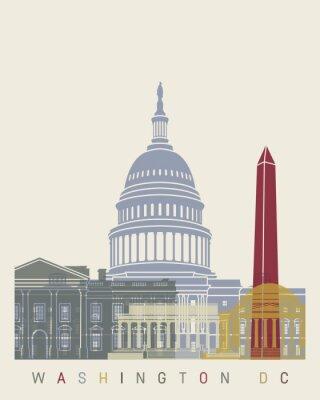 Poster manifesto orizzonte Washington DC