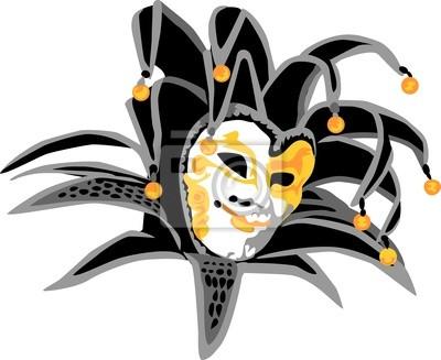 selezione più recente chiaro e distintivo seleziona per autentico Poster: Maschera di carnevale - joker
