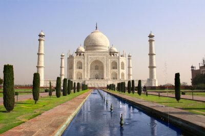 Poster Mausoleo Taj Mahal, Agra, India