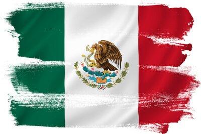 Poster Messico bandiera