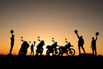 Poster motorsiklet Takimi