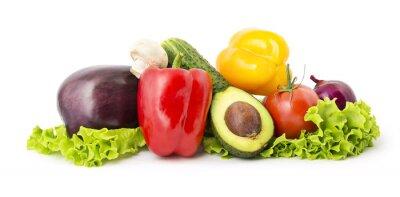 Poster Mucchio di verdure