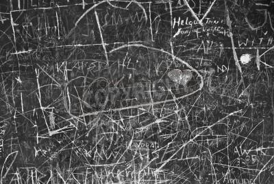Poster Muro Graffiti come simbolo della comunicazione urbana