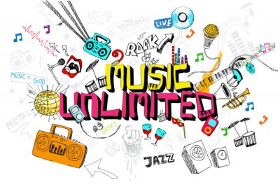 Poster Music Unlimited