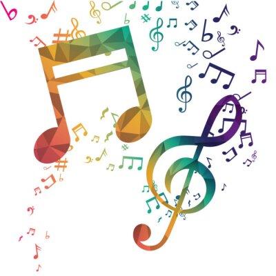 Poster Musica e Sound design