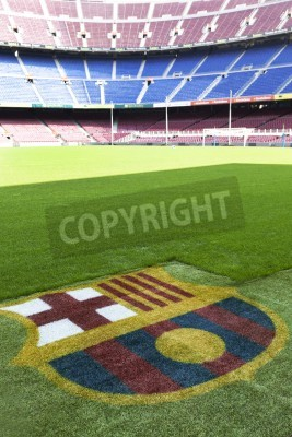 Poster Nou Camp - Fc Barcelona stadium detail