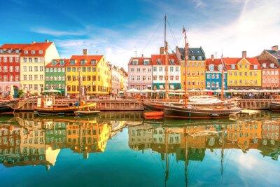 Poster Nyhavn di Copenaghen