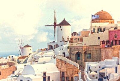 Poster oai vista Santorini