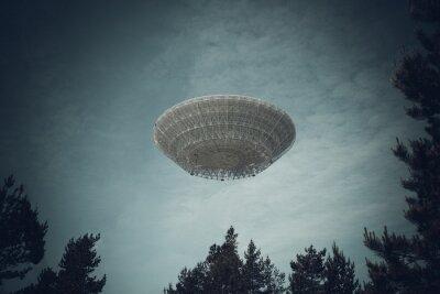 Poster Oggetto volante non identificato