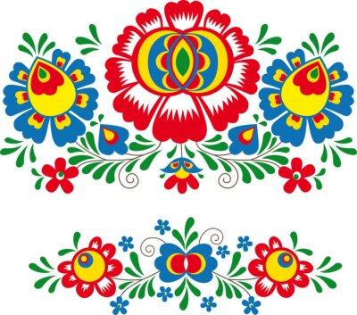 Poster Ornamenti Folk