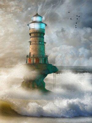 Poster Paesaggio di fantasia