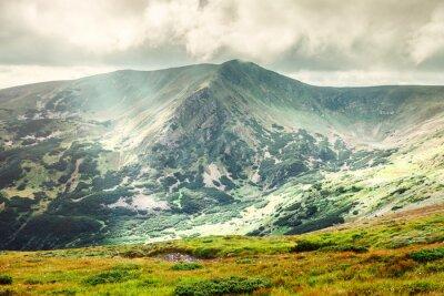 Poster Paesaggio di montagna in estate