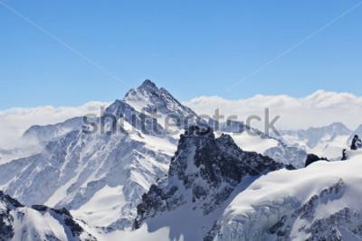 Poster Paesaggio invernale nel Cervino