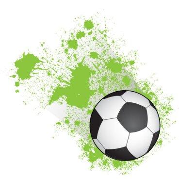 Poster Palla da calcio