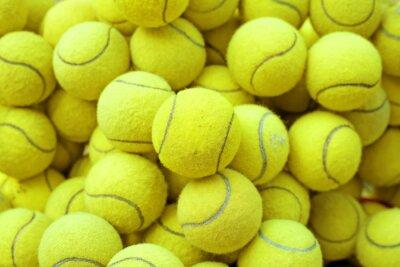 Poster palla da tennis