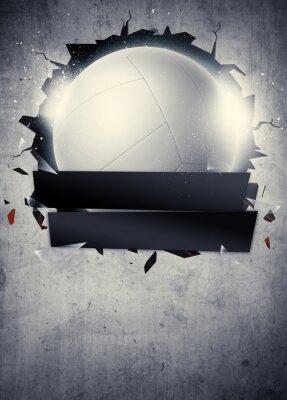 Poster Pallavolo sfondo