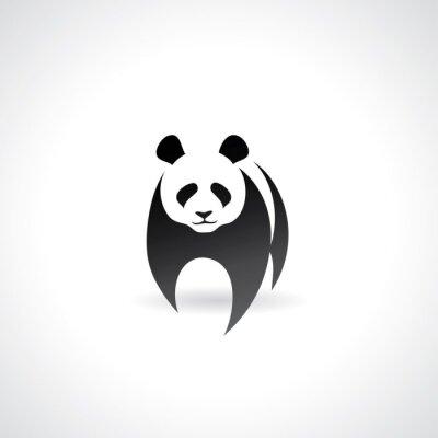 Poster Panda gigante