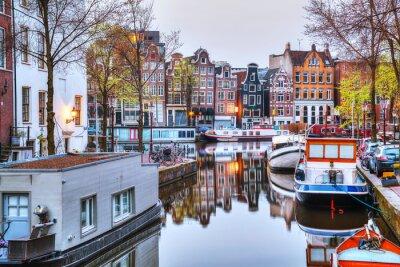 Poster Panoramica di Amsterdam