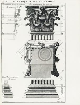 Poster Pantheon di Roma X