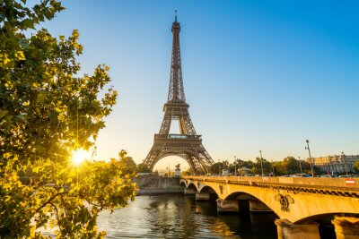 Poster Parigi Torre Eiffel Torre Tour Eiffel